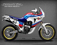 HONDA TRANSALP 650 RALLY RACER
