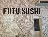 MURAL BOTANICO B&N Restaurant FUTU SUSHI Villa Crespo