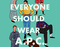 Everyone Should Wear A.P.C.