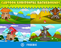 Free Fantasy Cartoon Game Backgrounds