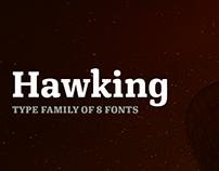 Hawking font family