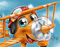 Mascot Design for PirlimpimpimShops.