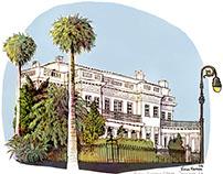 Travel Sketches: Savannah