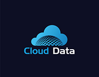 Cloud Computing Data Logo