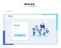 AVŞAR Sinema Dashboard Design