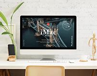 Free Workstation iMac Mockup