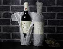 Praça de S.Tiago - Wine Label