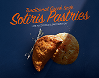 Sotiris Pastries Flyer