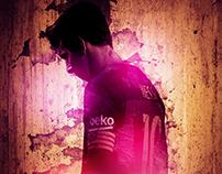 Portrait Messi