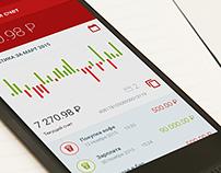 Alfabank app redesign concept