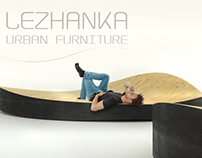 LEZHANKA urban furniture
