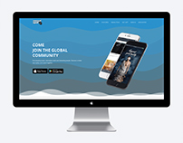 Socialmob Landing page design