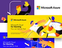 Microsoft Azure   Betting illustrations