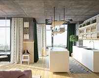 Ommm apartment by SVOYA studio