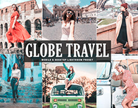 Free Globe Travel Mobile & Desktop Lightroom Preset