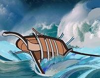 سفينة تقاوم الغرق