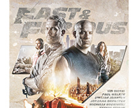 Fast & Furious 7 Poster/Blu-ray Cover