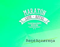 Maratón Lupe-Reyes - App Concept