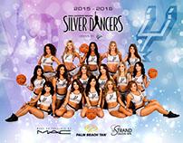 San Antonio Spurs Silver Dancer Autograph Card