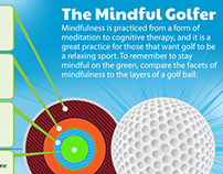 The Mindful Golfer - Infographic