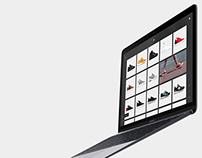 Sneaker Webshop Concept