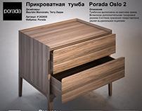 Model Bedside table Porada Oslo 2