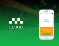 """""""Taxigo"""" mobile app design"""