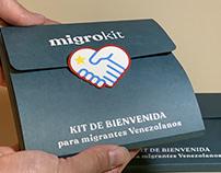 MIGROKIT kit de bienvenida por una ayuda humanitaria