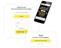 Crowdfunding of shares platform