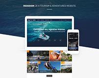 Tourism website redisign