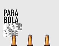 Parabola lager beer label