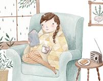 Cozy Armchair Read