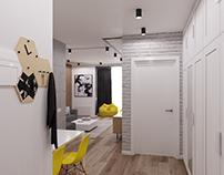 LOFT Kitchen - living room