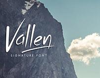 Vallen Font