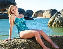 LuLu Teen Swimwear - Tie-dye Prints