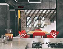 Fire station interior design
