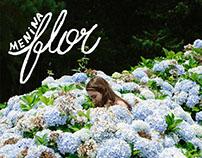 inspira menina flor | FARM