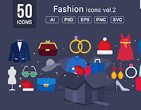 Fashion Vector Icons V2