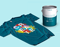 Limited Edition Paint Can T-Shirt