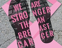 2013 We Are Stronger Than Breast Cancer Poster
