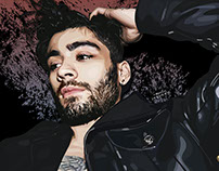 Illustration for Zayn Malik