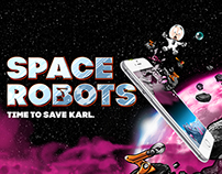 Space Robots Updated Visuals