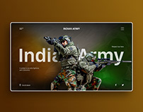 Indian Army UI concept.