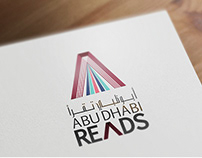 Abu Dhabi Reads Campaign Branding
