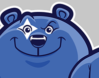 Leksands IF Hockey Mascot