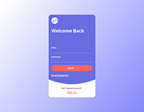 Daily UI Challenge 001 - Sign Up Form