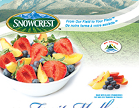 Snowcrest Stand-up Pouch Package Design