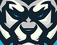 Tiger Mascot Logo, sold.