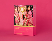miss A 'Colors' Album Packaging