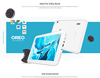 Alfa 7RC Tablet PC Landing Page